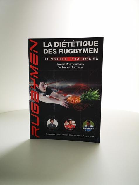 Livre La diététique des rugbymen Montbroussous